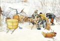 The Slaughter - Carl Larsson
