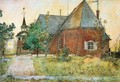 The Old Church - Carl Larsson