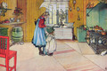 The Kitchen - Carl Larsson