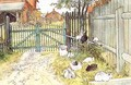 The Gate - Carl Larsson