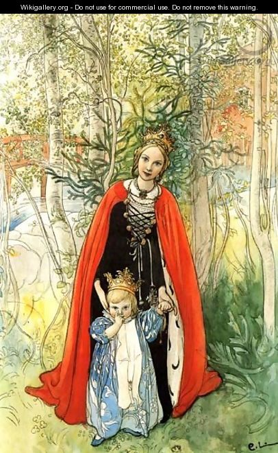 Our Princess - Carl Larsson