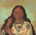 Kei-a-gis-gis, a woman of the Plains Ojibwa - George Catlin