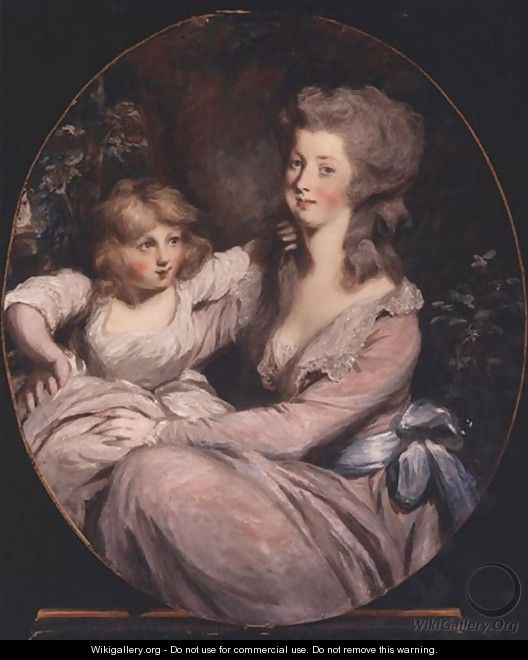 Peggy Shippen and daughter - Sir Thomas Lawrence