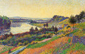 The Seine at Herblay - Maximilien Luce