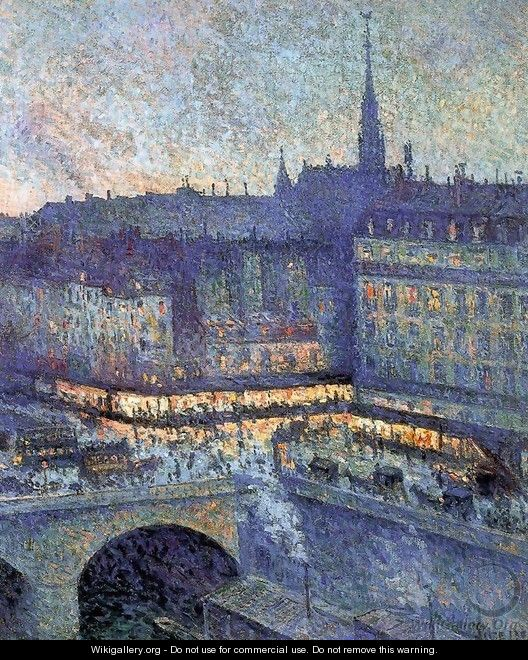The Sainte Chapelle - Maximilien Luce