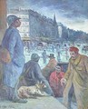 Soldiers in Paris - Maximilien Luce