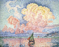 The Pink Cloud, Antibes - Paul Signac