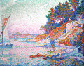 La calanque (The bay) - Paul Signac