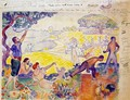 At the time outline for harmony - Paul Signac