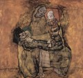 Mother with two children 2 - Egon Schiele