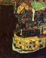 City on the Blue River II - Egon Schiele