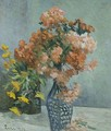 Vase of flowers - Maximilien Luce