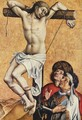 The thief Gesinas in the cross - Robert Campin