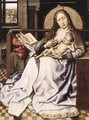 The Virgin and Child before a Firescreen - Robert Campin