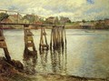 Jetty at Low Tide (aka The Water Pier) - Joseph Rodefer DeCamp