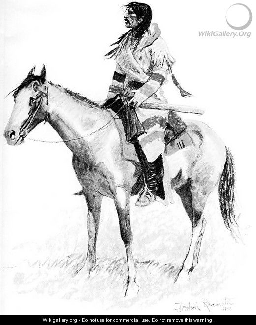 An Indian Scout - Frederic Remington