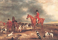Ralph John Lambton and his huntsman and hounds - John Ferneley, Snr.