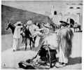 We Packed Our Mules in the Corral of the Hotel - Frederic Remington