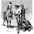 Third Cavalry Troopers - Frederic Remington