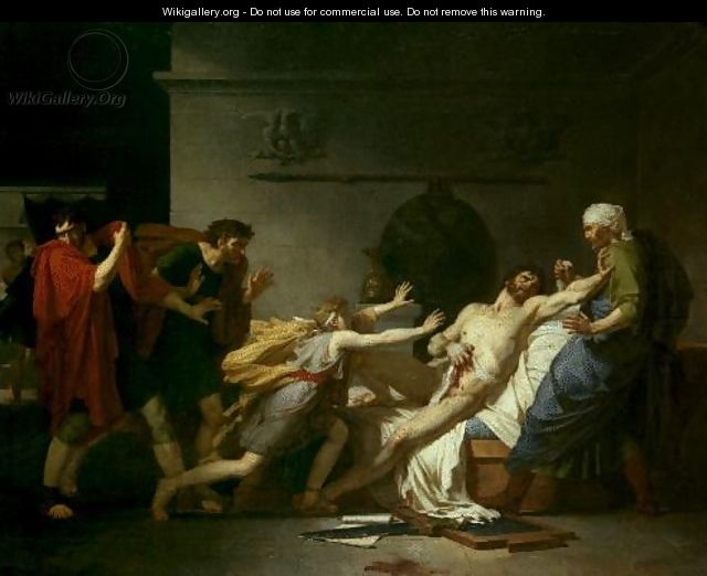 Death of Cato the Younger - Pierre-Narcisse Guerin