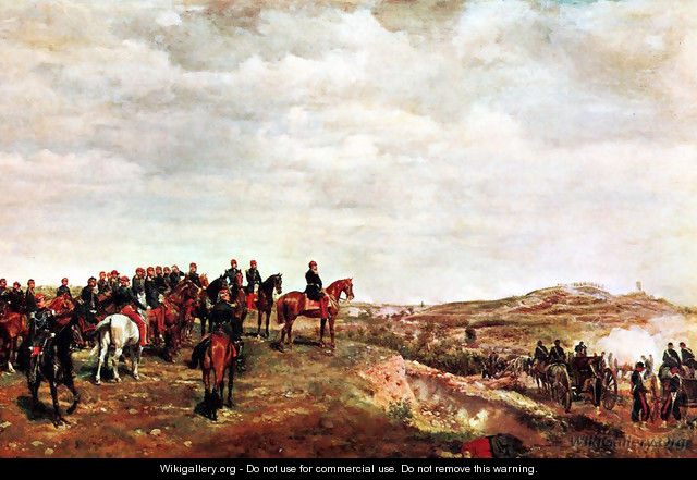 Napoleon III at the Battle of Solferino - Jean-Louis-Ernest Meissonier