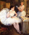 The Ballet Dancers, The Dressing Room - Willard Leroy Metcalf