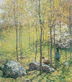 Dogwood Blossoms (No. 1) - Willard Leroy Metcalf