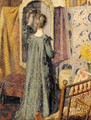 Woman Standing in Front of the Mirror (Madame Georges Lemmen) - Georges Lemmen