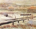 Winter on the River - Ernest Lawson