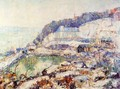The Hudson at Inwood - Ernest Lawson
