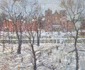 Stuyvesant Square in Winter - Ernest Lawson