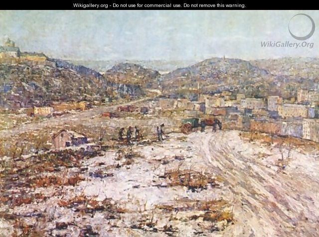 Hills at Inwood - Ernest Lawson