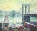 Brooklyn Bridge - Ernest Lawson