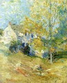 The Artist's House Through the Trees - John Henry Twachtman