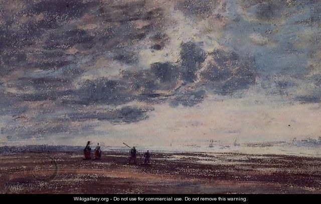 The Beach 2 - Eugène Boudin