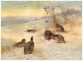 Close of a Winter's Day - Archibald Thorburn