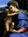 Virgin with Child - Annibale Carracci