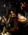 Adoration of the Shepherds - Annibale Carracci