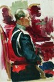 Study for the picture Formal Session of the State Council 2 - Ilya Efimovich Efimovich Repin