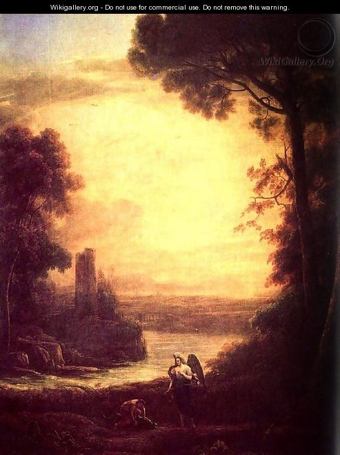 Tobias and the angel - Claude Lorrain (Gellee)