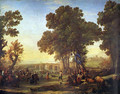 The village party - Claude Lorrain (Gellee)