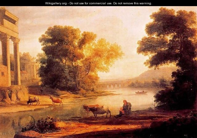 The ford 2 - Claude Lorrain (Gellee)