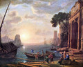 Port at sunset - Claude Lorrain (Gellee)