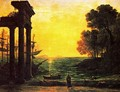 Marina with Ezekiel crying on the ruins of Tyre - Claude Lorrain (Gellee)