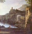 Landscape with the nymph Egeria and King Numa - Claude Lorrain (Gellee)