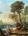 Landscape with Apollo and Mercury - Claude Lorrain (Gellee)