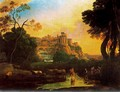Imaginary view of Tivoli - Claude Lorrain (Gellee)
