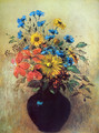 Flowers from field - Odilon Redon