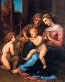 Madonna of Divine Love (copy from Rafaello) - Anton Raphael Mengs