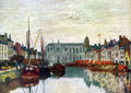 Channel in Bruxelles - Eugène Boudin
